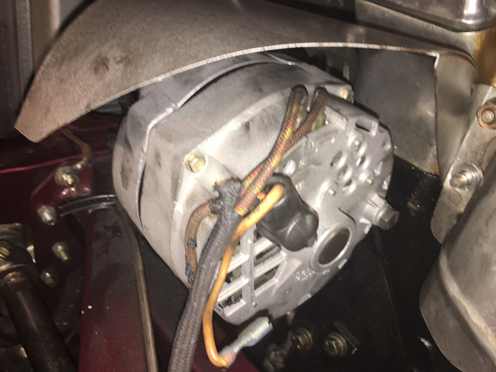 Delco Two Wire Alternator Connection Issue - E-type